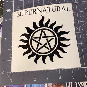 8/$15 Supernatural Vinyl Decal
